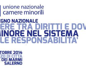 Convegno Nazionale Camere Minorili organizzato a Salerno